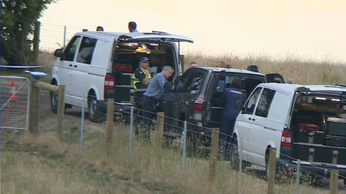 The property is about 95km outside of Melbourne. (9NEWS)