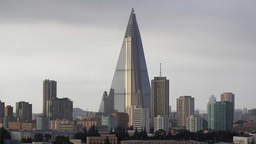 The Ryugyong Hotel  is the tallest abandoned building in the world.