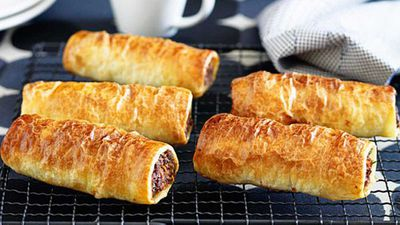Lunch: Use you leftover mince or bolognese to make family sausage rolls