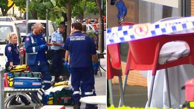 'A targeted attack': Man gunned down at café