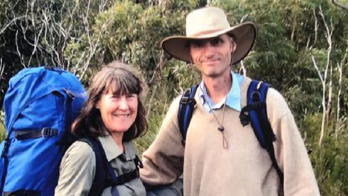 Ms Trease and partner, Guy Williams. (9NEWS/ Neary Ty)