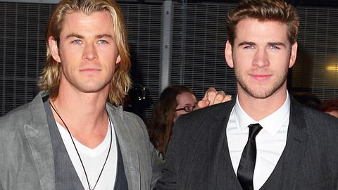 Christ and Liam Hemsworth