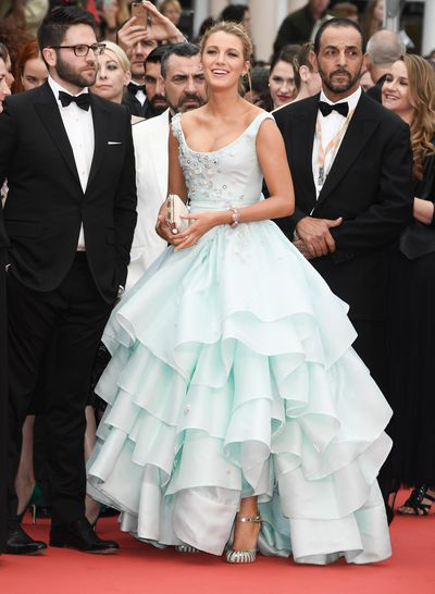 While attending the Cannes Film Festival, Lively switched up her signature sultry look with a princess-worthy Vivienne Westwood gown.