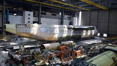 Antonov AN-225: The Kiev factory harbouring a forgotten Soviet relic