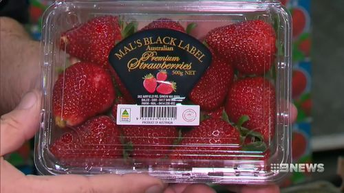 The strawberries are from the same brand that another SA case was linked to.