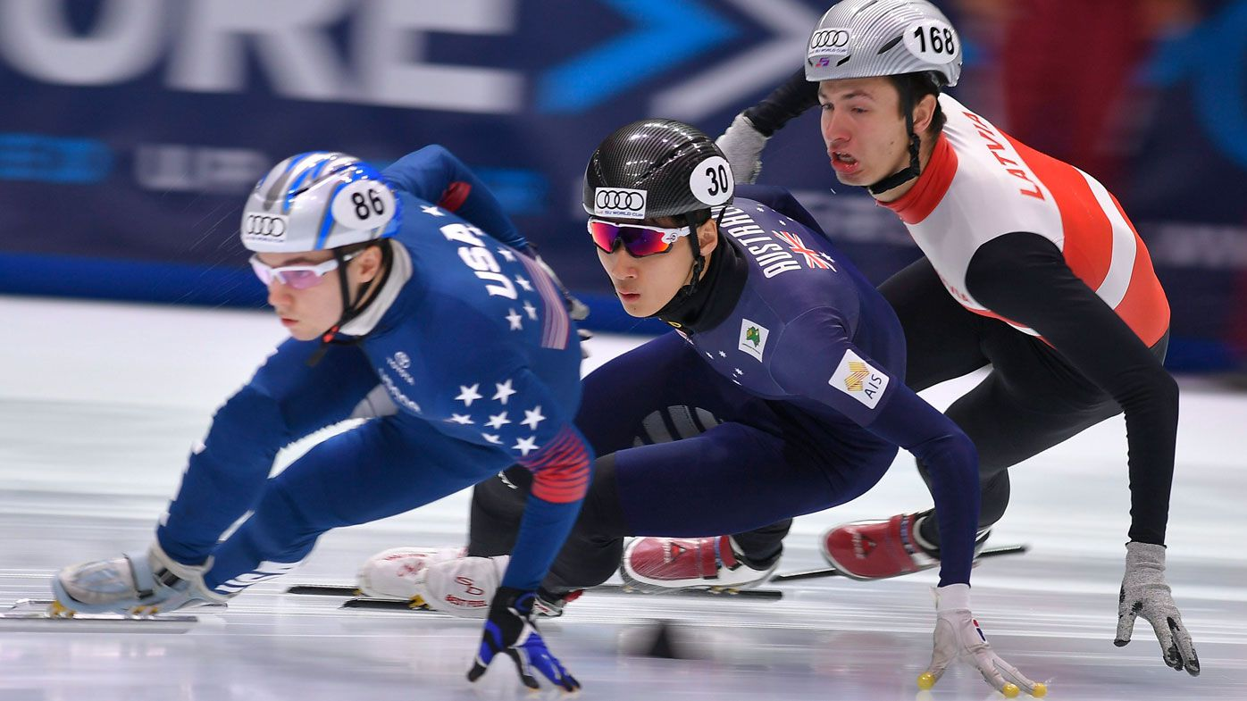 Winter Olympics: Aussie speed-skater Andy Jung misses 1500m short track final