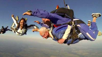 Oldest skydivers