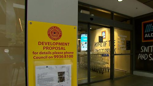 The company has applied to the North Sydney Council for approval of a trial store.