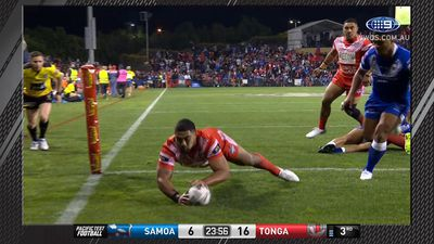 Tonga ready for Kangaroos Test after win