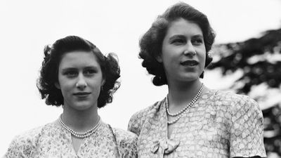Princess Margaret and Queen Elizabeth - sisters and best friends.