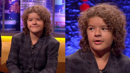 'Stranger Things' star Gaten Matarazzo has spoken out about his disability, cleidocranial dysplasia. (YouTube/The Jonathan Ross Show)