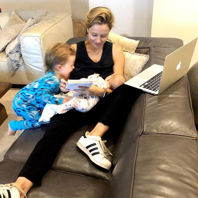 60 Minutes reporter Allison Langdon on being a second-time mum