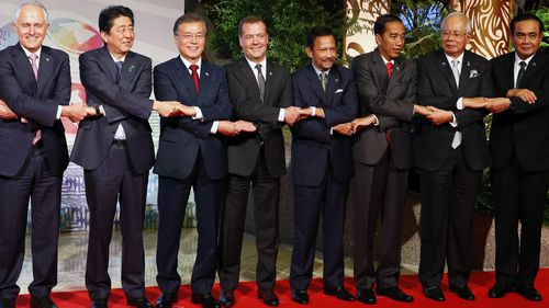 While not a member of Asean, Australia is part of the larger East Asia Summit, which also includes China. (AAP)