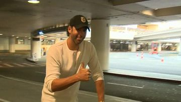 VIDEO: Grant Hackett arrives in US for rehabilitation