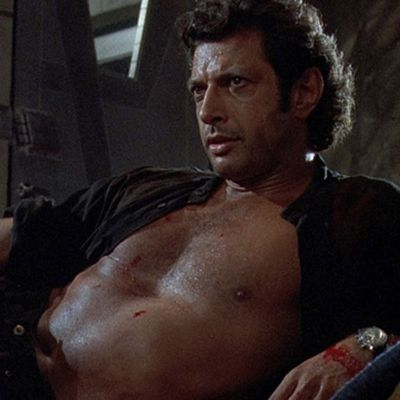 Jeff Goldblum as Dr Ian Malcolm: Then