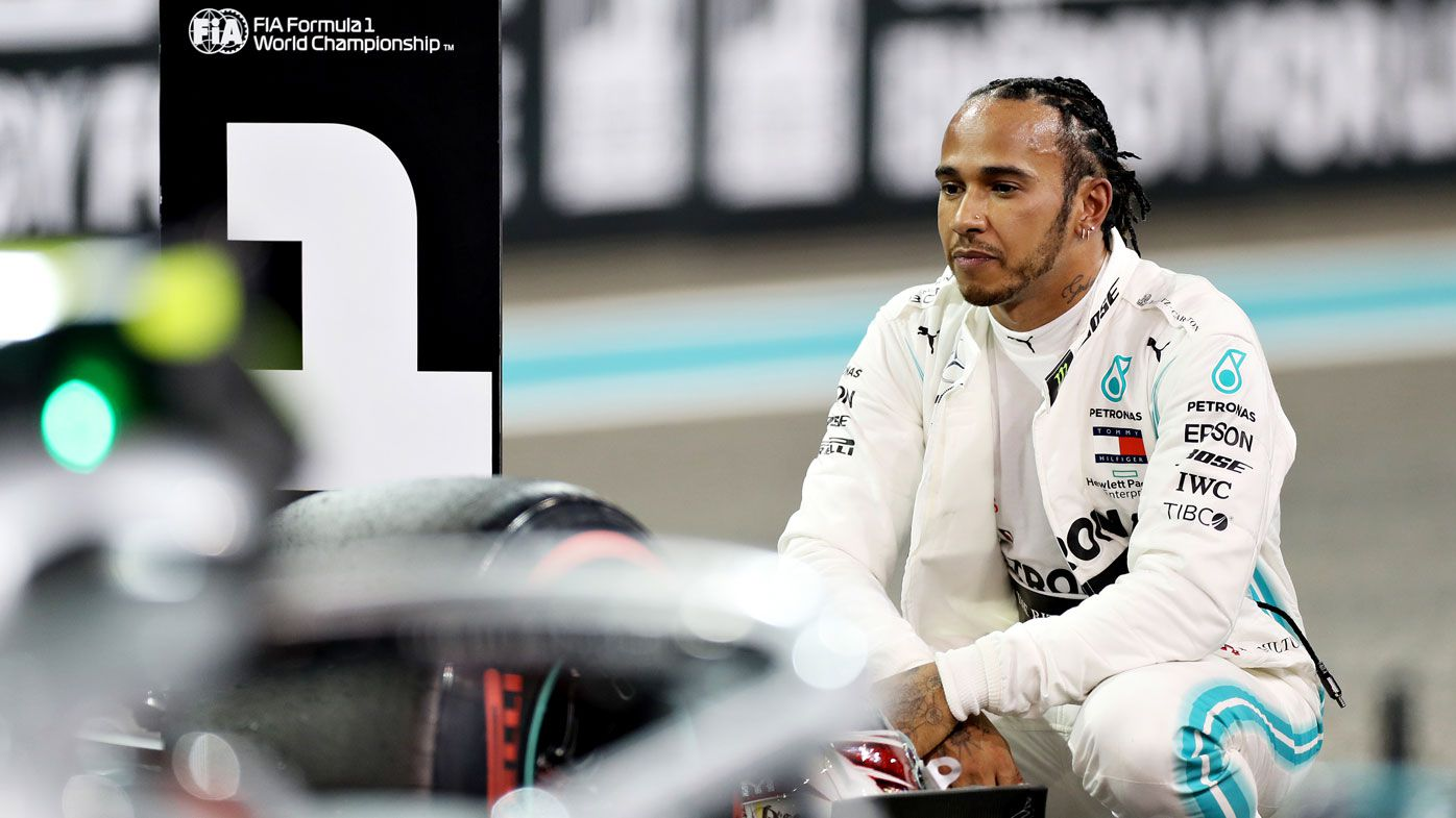 Lewis Hamilton of Great Britain and Mercedes