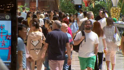 Big crowds are expected at most shopping centres as last-minute gift buyers scramble to pick up presents.