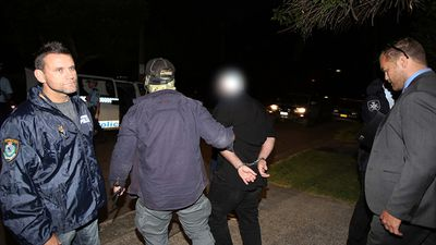 <p>Police have arrested four men as part of a string of counter-terrorism raids, that involved more than 200 officers, across Sydney this morning.</p><p>The raids began with a pre-dawn swoop on a home at Marsfield.</p><p><strong>Click through to see how the whole operation unfolded.</strong></p>