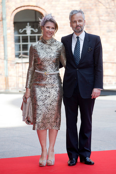 Princess Martha Louise of Norway and Ari Behn pictured at King Carl Gustaf of Sweden's 70th Birthday in 2016.