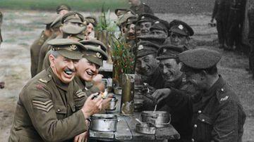 Peter Jackson magic brings colour to WW2