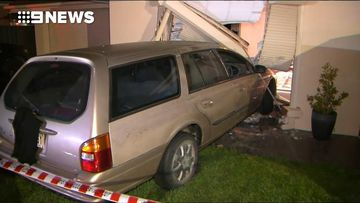 Alleged drink-driver crashes into baby nursery of Adelaide home