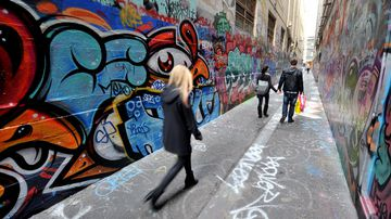 The worst graffiti hotspots in Victoria revealed