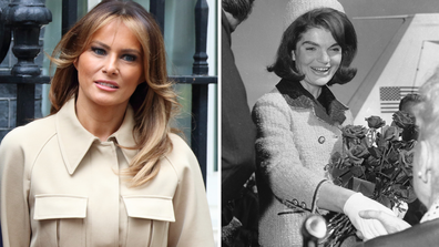 DOnald Trump compares Melania to Jackie O