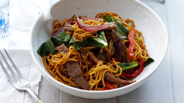 Five spice pork noodles for $10