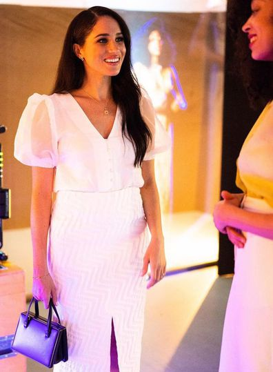 Meghan Markle at the National Theatre