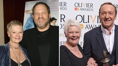 Judi Dench, Harvey Weinstein and Kevin Spacey attend awards ceremonies