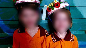 As part of the terms of her release, she can't contact the girls, whom she is accused of taking from school at Townsville in 2014 when they were aged seven
