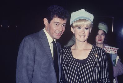 Connie Stevens with Eddie Fisher.  (Photo by Art Zelin/Getty Images)