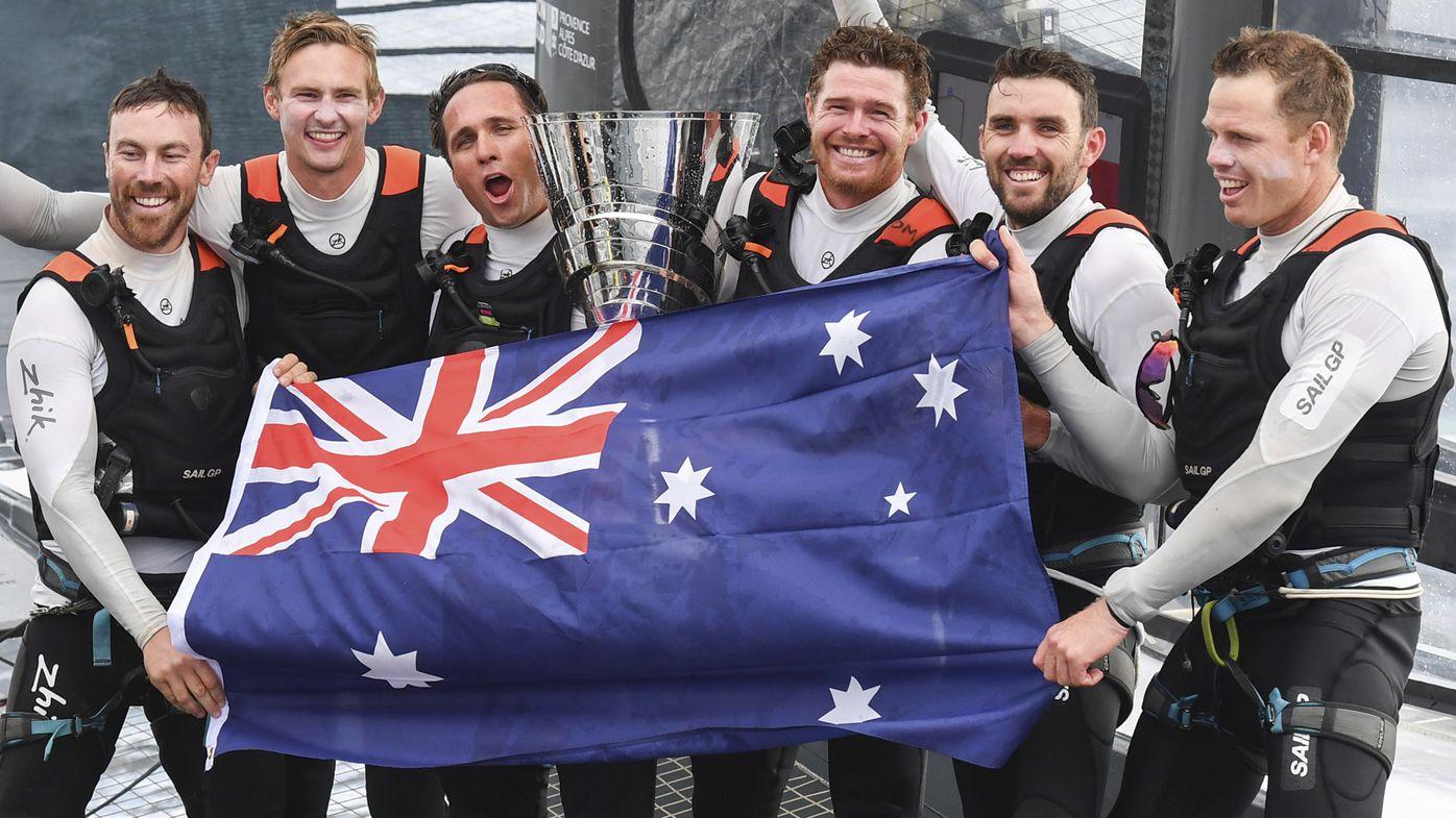 Tom Slingsby steers Aussies to $1.5 million SailGP win in Marseilles