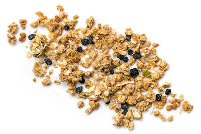"Low-fat granola<span style=""white-space: pre;"">	</span>"