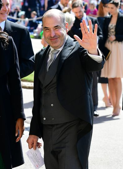 9ca1db144b7fa Royal Wedding 2018  Suits cast arrive to support Meghan Markle ...