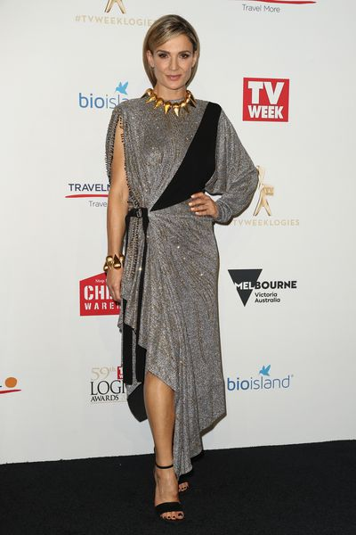 <p>Danielle Cormack in Louis Vuitton</p>
