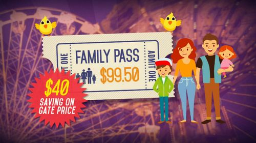 The Easter Show's website has some great ticket deals. (9NEWS)