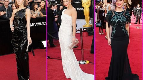 Oscars red carpet 2012: see all the pics here!