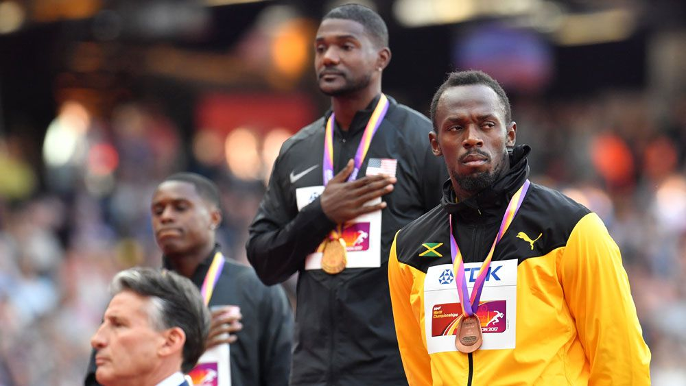 Gatlin's father flays crowd for booing son