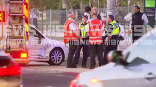 It's not known the extent of the children's injuries. (9NEWS)