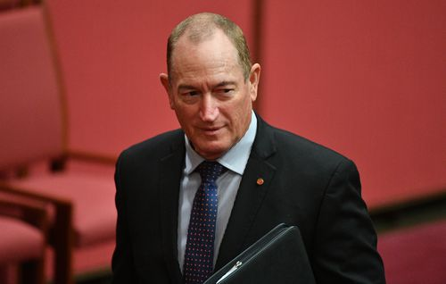 During the address, Senator Anning outraged the Jewish community by using the term 'final solution'.