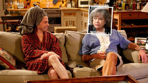 Kathy Bates is going to play Charlie Sheen's ghost on Two and a Half Men