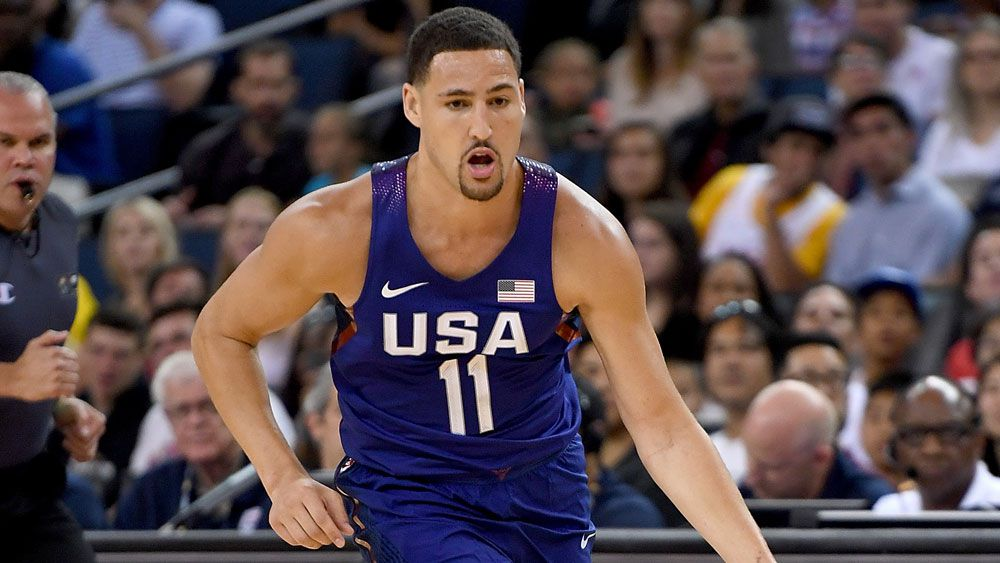 Klay Thompson(AFP)