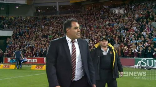 Meninga has nine Origin series wins under his belt. (9NEWS)