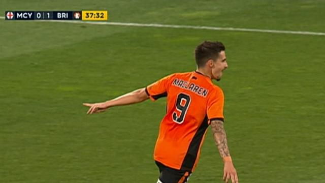 City, Roar share points in A-League brawl