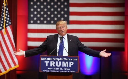 The President has lashed out at the lawsuit, saying it has come from 'sleazy' New York Democrats. Picture: AAP