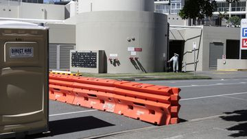 There is an anxious wait for people who work and live in the New South Wales and Queensland border communities after a new COVID-19 case was detected in Lismore.