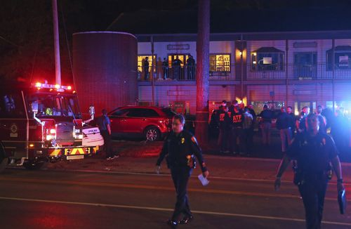 It is believed a gunman, whose motive remains unknown, opened fire in the studio before turning the weapon on himself.