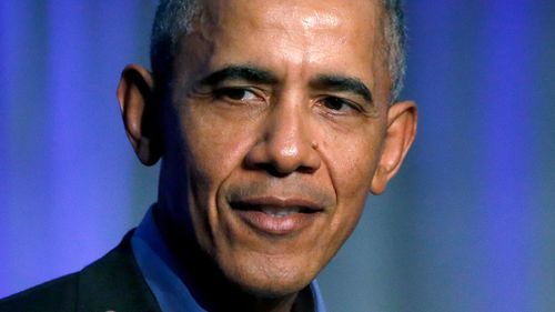 """Former President Barack Obama said his successor President Donald Trump is """"the symptom, not the cause"""" of division and polarisation in the US."""