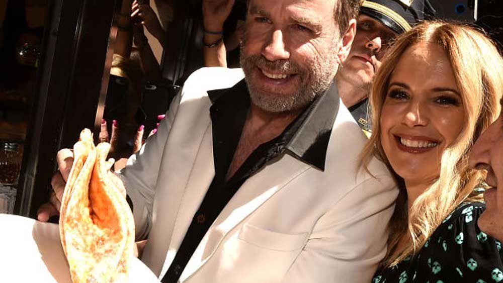 John Travolta honours Lenny's Pizza